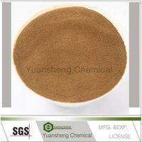 Calcium lignin sulfonate/plasticizer concrete admixture/calcium lignosulfonate mg