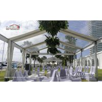 Clear Party Tent with Clear Roof Cover for Outdoor Parties