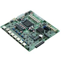 Intel Gen3 H67 Based Firewall Motherboard for Network Security Application 6 Nic 2 SFP Option
