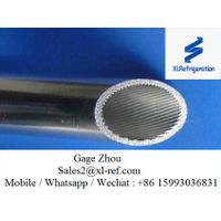 Refrigeration Extrusion Aluminum Inner Grooved Tube Round 3003/3102 O