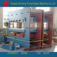Rubber vulcanizing machine/ Rubber molding press
