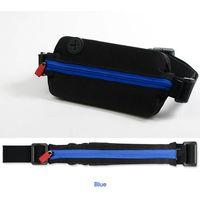 Outdoor running belt spandex lycra flip belt