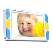 Kaynikon 5.0-inch HD Portable Video Magnifier Visually Impaired Amplifier Support 4x-32x Zoom