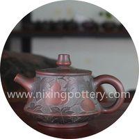 Clay Tea Pot 160ml Nixing Pottery Teapot Kung Fu Tea Set Family Use Pot thumbnail image