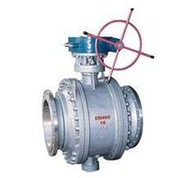 Worm-gear Fixed Ball Valve