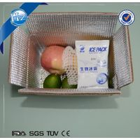 Insulated shipping box for food with insulation dry ice ice cooler box thumbnail image