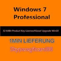 Windows 7 Professional 32/64 Bit OEM Key Lizenzschlssel + Windows 10 Upgrade