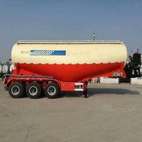 50ton bulk cement tanker trailer 40 cubic cement tanker