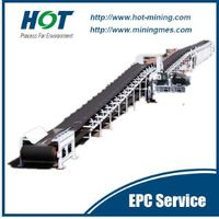 Overland Belt Conveyor