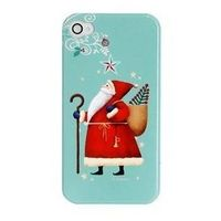 Christmas Father Mobile Phone Case for iPhone 4/4s, iPhone 5 (RoHS)