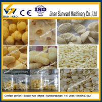 High Quality Fully Automatic Corn Snack Pellet Extruder Snack Machine thumbnail image