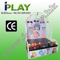 NEW TYPLE DOUBLE KID BASKETBALL FUNNY BALL REDEMPTION MACHINE