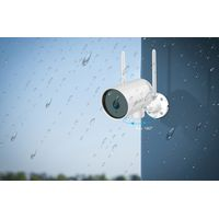 CD201P Waterproof Night Vision Pan/Tilt Outdoor Security Camera