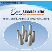 Textile Industry Full Automatic Paper Cone Making Machine