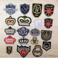 Football badges crown logo uniform club sign diy china factory thumbnail image