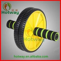 Body Building China Wholesale Abdominal Exercise Wheel to Lose Weight Magic Double AB Wheel Easy to