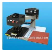 Pneumatic swing-man heat transfer press machine