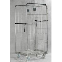 Rolling nestable storage carts