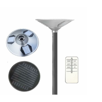 15W round UFO design solar power street lights integrated LED garden light thumbnail image