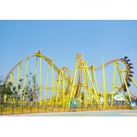 china roller coaster manufacturer large and thrilling suspended roller coaster for