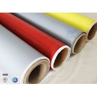 Anti-Corrosion Fireproof Silicone Coated Fiberglass Fabric For Welding Blanket thumbnail image