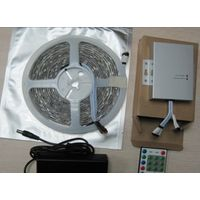 60led/m waterproof IP65 RGB 5050 led strip light 5m/reel with controller thumbnail image