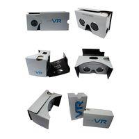 Brand Google Cardboard Smartphone Virtual Reality Box 3D VR Glasses thumbnail image