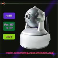 PTZ CMOS Network IP Camera With Two Way Audio