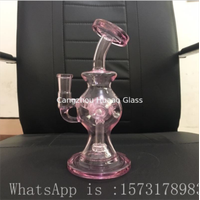 glass water pipe glass pipe Circulating water smoking Glass smoking pipe thumbnail image