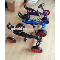 2015New design little kids pedal go karts cheap selling