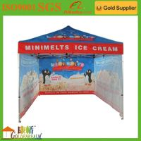 Luxury custom made hot sale digital printing advertising folding tent