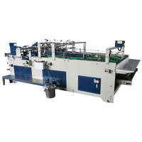 JWG1800 Semi automatic folder gluer for lock bottom