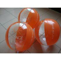 Inflatable beach ball water ball