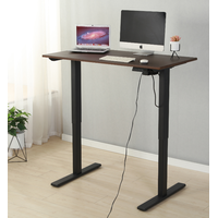 single motor electric height adjustable office desk electric sit to stand office desk
