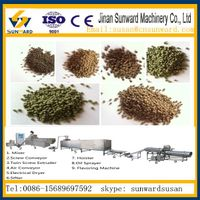 CE  fully automatic  floating fish feed processing line thumbnail image