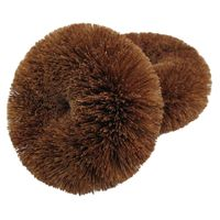 Coconut cleaning bottle brushes kitchen scourer dish scrubber thumbnail image