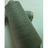 Dyeable conductive yarns for capacitive touch screen glove