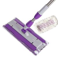 360° Spin Flat Mop-HM0390 Wth Two Mop Clothes thumbnail image