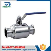 China Sanitary Stainless Steel Ball Valve
