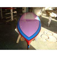 12 feet Bamboo Veneer Stand Up SUP paddle board