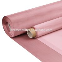 Electron beam filter copper fabric 30 20 10 micron 50 60 70 80 mesh 99.99 pure copper wire mesh thumbnail image