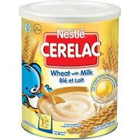 Nestle Cerelac Honey & Wheat with Milk 400gr Tin.