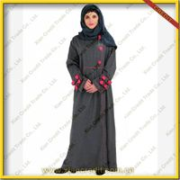 2014 Newest muslim women abaya  made offlannel KDT - 1005 thumbnail image