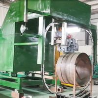 Automatic Steel Bundling Machinery For Horizontal Strapping Of Steel Coils