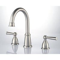 Two Handles Widespread Basin Faucet