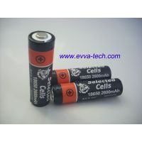 Flashlight Battery Protected 18650 Battery 2200mAh with  protection thumbnail image
