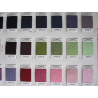 Top dyed melange yarn