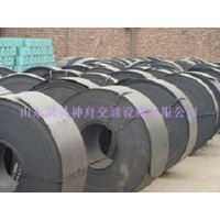 Guardrail plate of raw materials