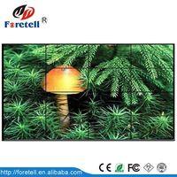 Hot-sale 3.5mm narrow bezel videowall mount 55inch 4x4 lcd video wall