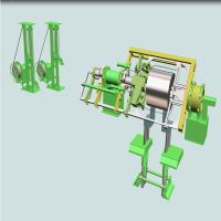 Automatic Steel Bundling Machinery For Radial Strapping